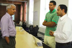 DeshDeshpande-pic : A BILLIONAIRE LISTENING TO OUR PITCH